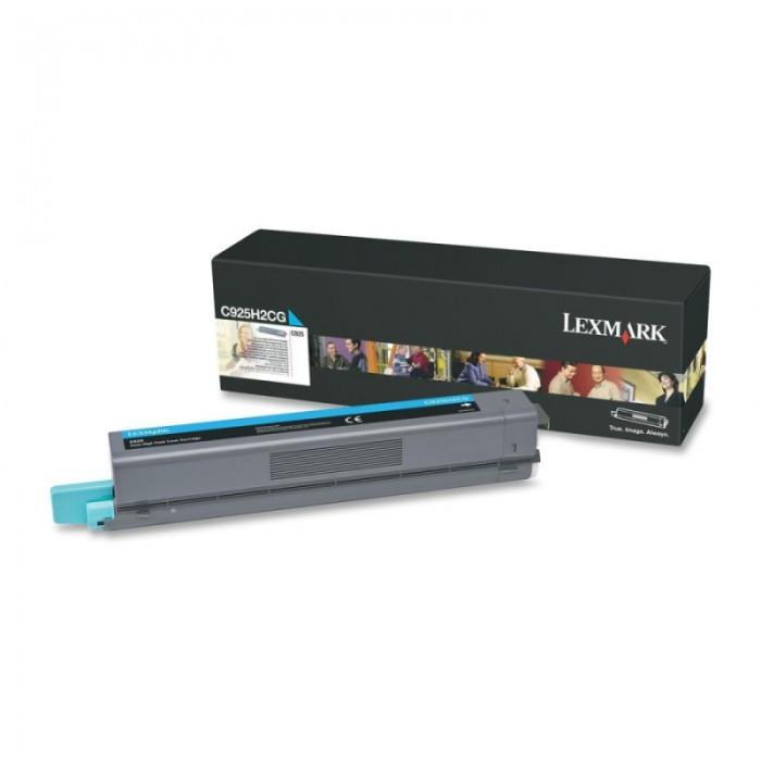Toner Original pentru Lexmark Cyan, compatibil C925, 7500pag  [0]