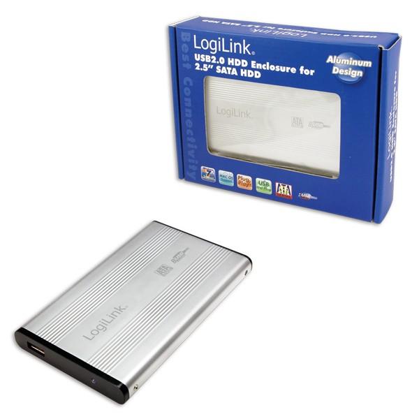 "HDD Enclosure 2.5"" SATA Logilink USB 2.0  0"