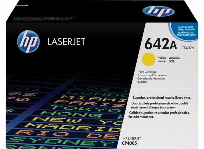 Toner Original pentru HP Yellow, compatibil CP4005, 7500pag  [0]