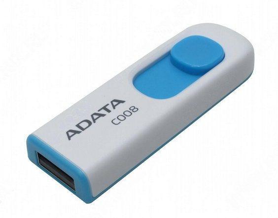 USB 2.0 64GB ADATA C008 White&Blue  [0]
