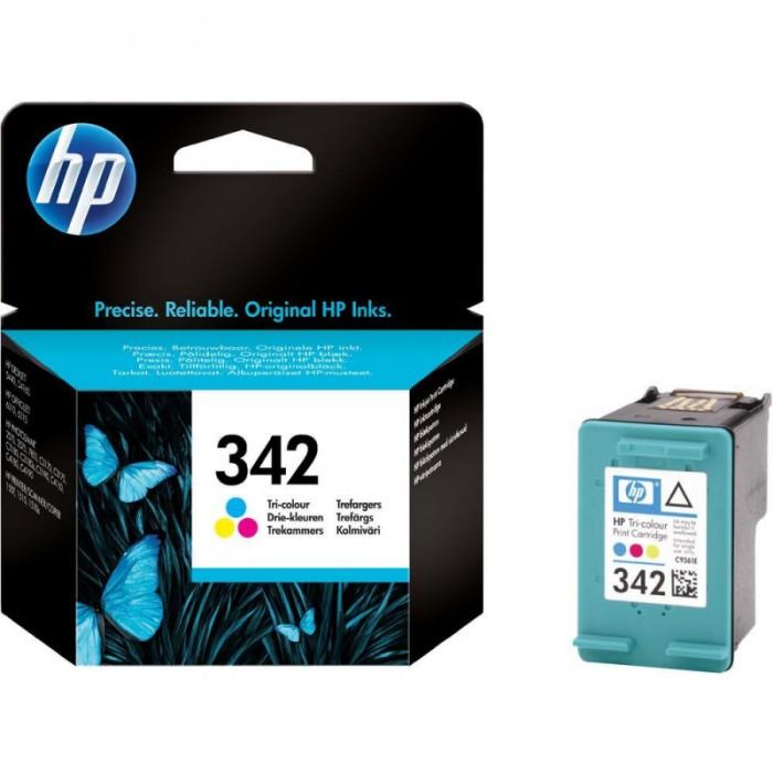Cartus cerneala Original HP Tri-color 342 w.Vivera ink, compatibil DJ5440/3310/7850/C3180/4180/PSC1507/1510, 220pag  [0]