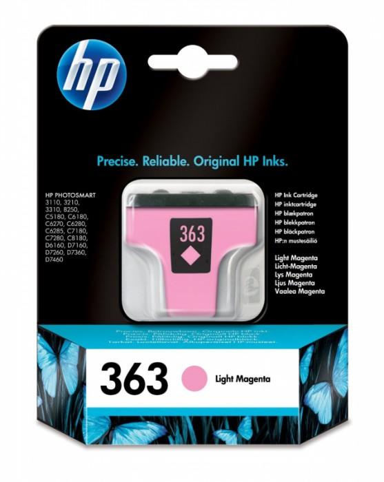 Cartus cerneala Original HP Magenta Light Vivera ink, compatibil   HP Photosmart 3210/3310/8250/ C5180/C6180/C6280/C7180/C7280/C8180/D6160/D7160/D7260/ D7360/D7460 350 pag  [0]