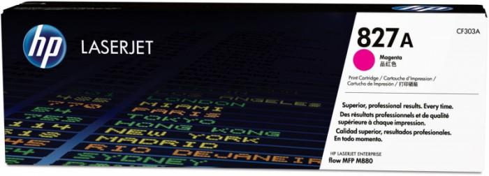 Toner Original pentru HP Magenta 827A, compatibil M880z, 32000pag  [0]