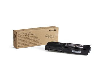 Toner Original pentru Xerox Negru, compatibil Phaser 6600/WC6605, 8000pag  [0]