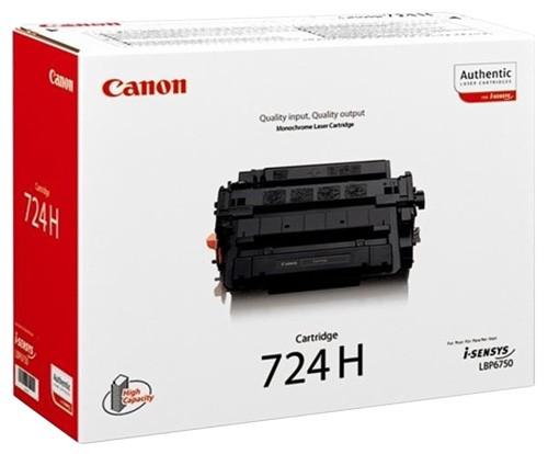 Toner Original pentru Canon Negru CRG-724H, compatibil LBP6750CDN, 12500pag  [0]