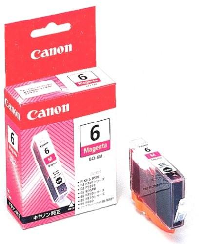 Cartus cerneala Original Canon BCI-6M Magenta, compatibil S800  [0]