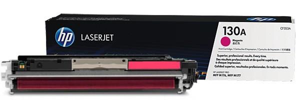Toner Original pentru HP Magenta 130A, compatibil M176/M177, 1000pag  [0]