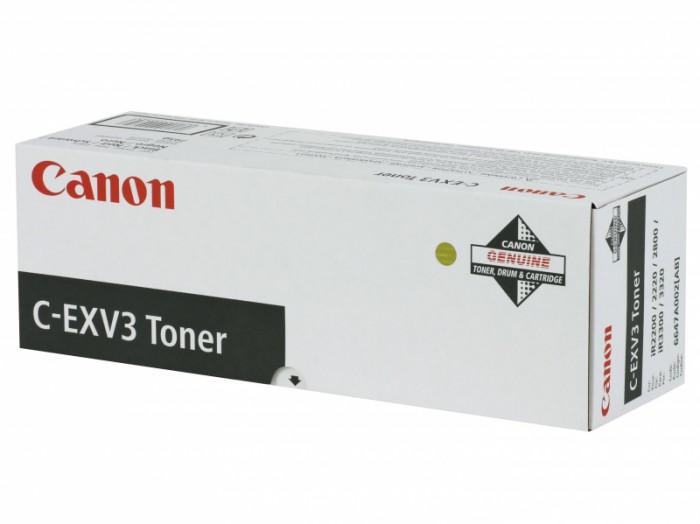 Toner Original pentru Canon Negru C-EXV3, compatibil IR2200/2800/3300, 16000pag  0