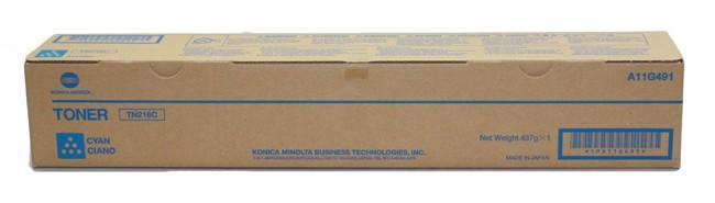Toner Original pentru Konica-Minolta Cyan TN-216C, compatibil BizHub C220/280,  26000pag  0