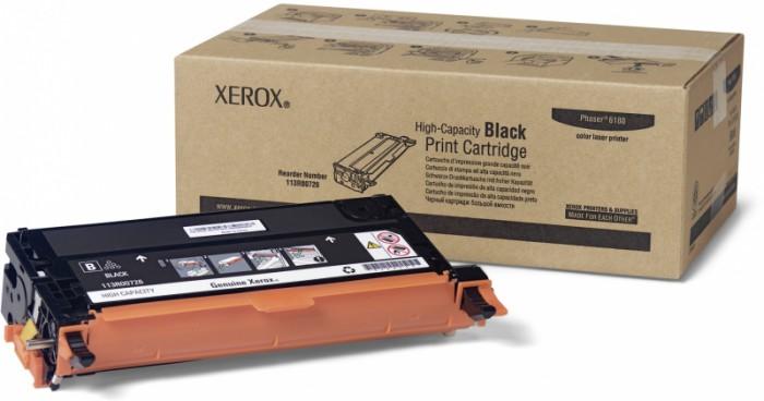 Toner Original pentru Xerox Negru, compatibil Phaser 6180/6180MFP, 8000pag  [0]