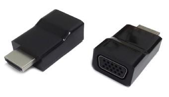 Adaptor HDMI to VGA adapter, single port  0