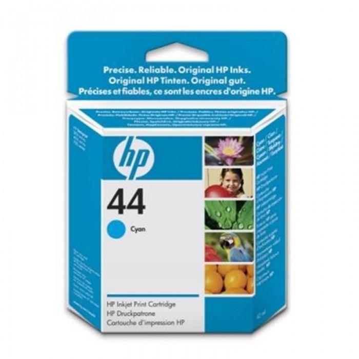 Cartus cerneala Original HP Cyan 44, compatibil DJ 350/45x/48x/750, 42ml  0