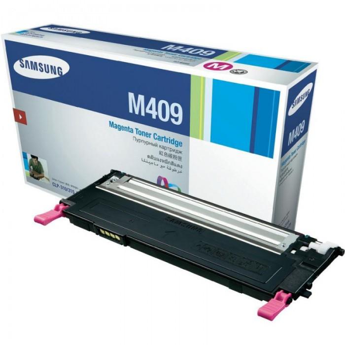 Toner Original pentru Samsung Magenta, compatibil CLP-310/315/CLX-3170/3175, 1000pag  [0]