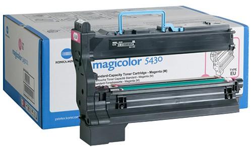 Toner Original pentru Konica-Minolta Magenta, compatibil MagiColor 5430, 6000pag  0