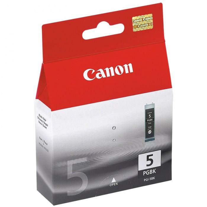 Cartus cerneala Original Canon PGI-5BK Negru, compatibil iP4200  0