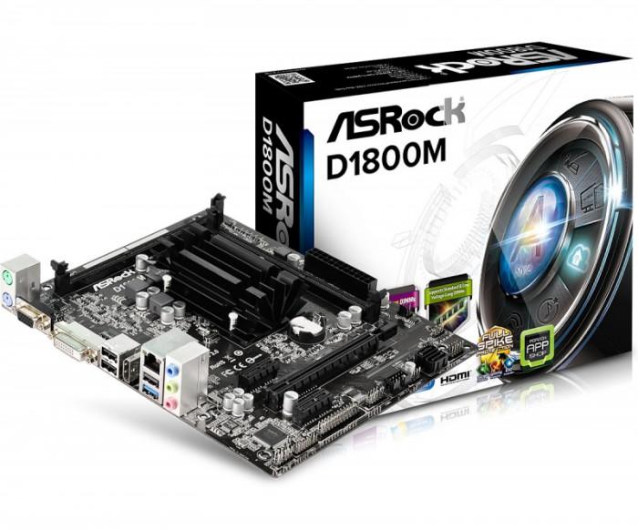 MB / CPU / VGA combo D1800M Intel 2.58GHz Dual-Core Celeron J1800 mATX  [0]