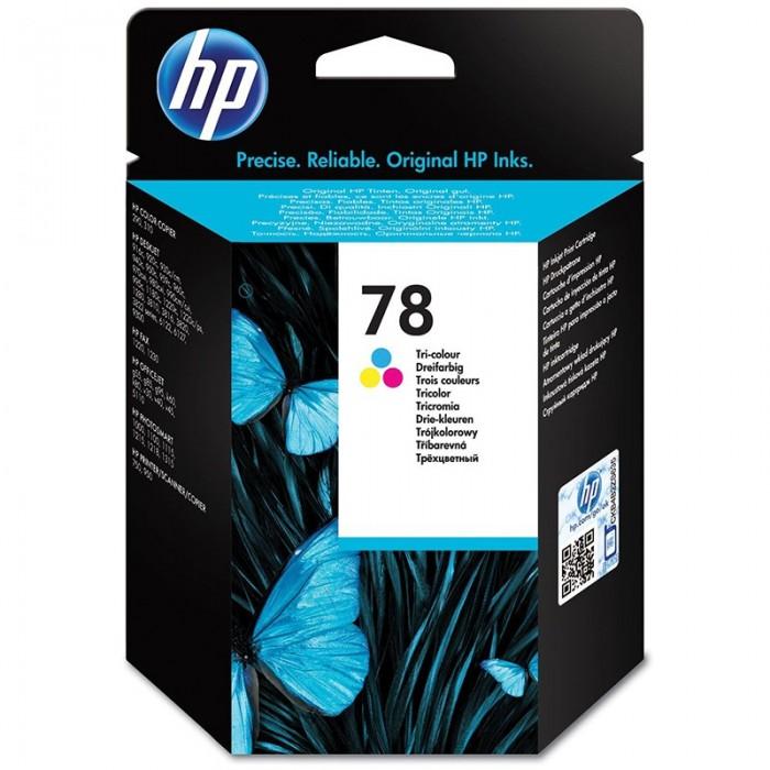Cartus cerneala Original HP Tri-color 78, compatibil DJ9xx/1220/OJG55/G85/PS1xxx, 19ml, 450pag  [0]