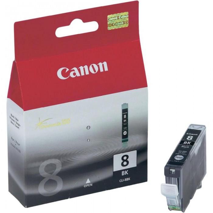 Cartus cerneala Original Canon CLI-8BK Negru, compatibil iP4200  0