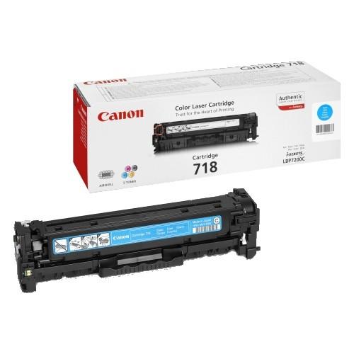 Toner Original pentru Canon Cyan CRG-718C, compatibil LBP7200CDN, 2900pag  [0]