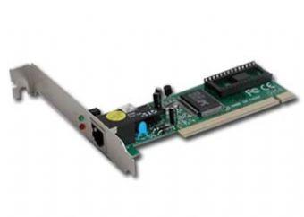 Placa retea PCI 1x RJ-45 100Base-TX 10/100Mbps, chipset Realtek 8139C, cu auto-negociere, full-duplex si wake on LAN, GEMBIRD  [0]