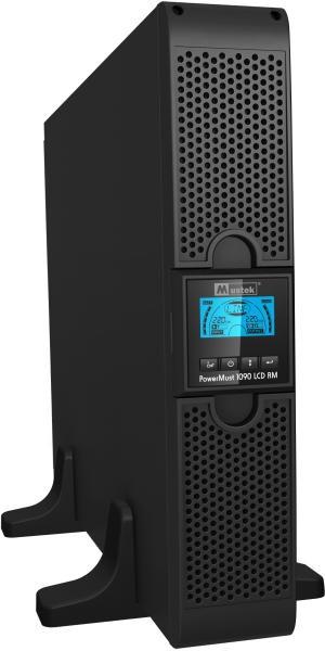 UPS MUSTEK. PowerMust  1090 online LCD RM (1KVA), IEC  0