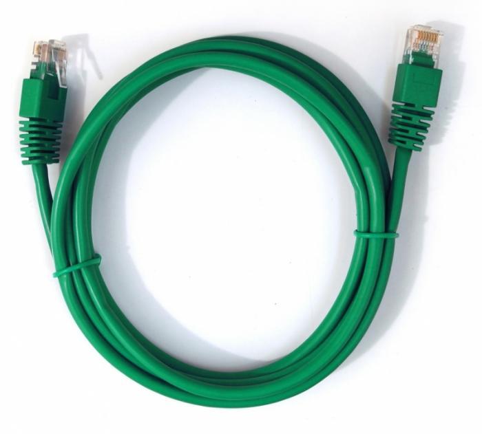 CAT5e UTP Patch cord, green, 1.5 m  0