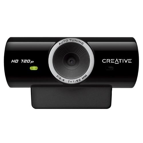 Camera Web cu microfon CREATIVE Live! Cam SyncHD , USB 2.0, senzor HD 720p, rezolutie foto: 3.7MP interpolati si video: 1MP, culoare: negru 0
