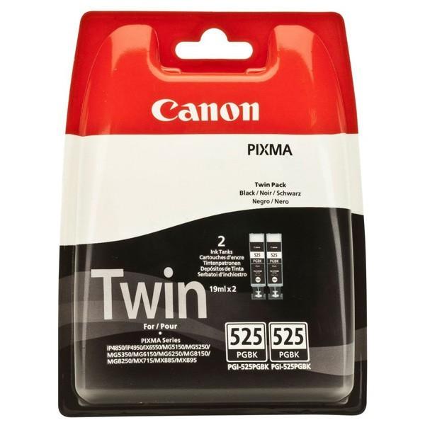 Cartus cerneala Original Canon PGI-525PGBK Negru, Twin Pack, compatibil Canon Pixma IP4850, MG5150/5250/6150/8150, 2 x 19 ml  [0]