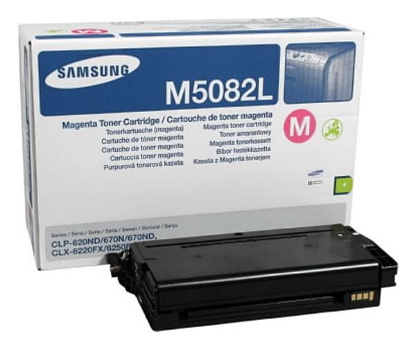 Toner Original pentru Samsung Magenta, compatibil CLP-620/670, 4000pag  0