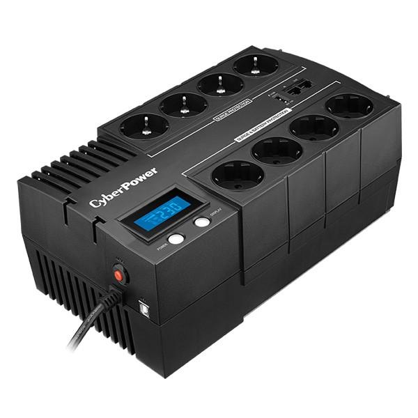 UPS CYBER POWER Brick series II Green Power 720W (1200VA) Line Interactive, AVR, LCD, USB Charger Port (+5VDC), Schuko  [0]
