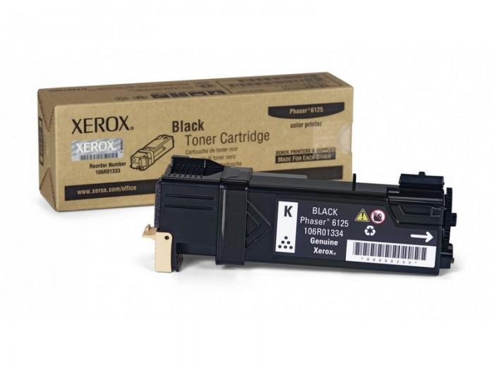 Toner Original pentru Xerox Negru, compatibil Phaser 6125, 2000pag  0