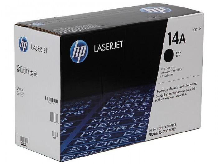 Toner Original pentru HP Negru 14A, compatibil M712x/M725x, 10000pag  [0]
