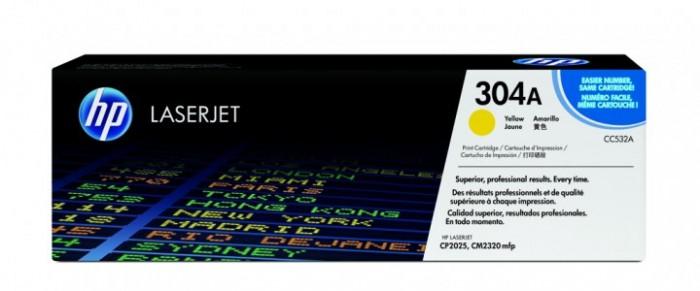Toner Original pentru HP Yellow 304A, compatibil CP2025/CM2320 w.ColorSphere, 2800pag  [0]