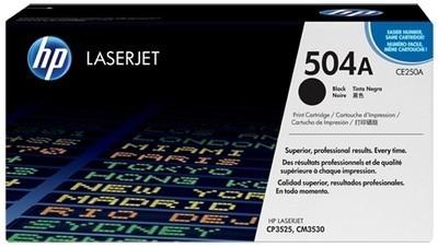 Toner Original pentru HP Negru, compatibil CP3525/CM3530, 5000pag  [0]