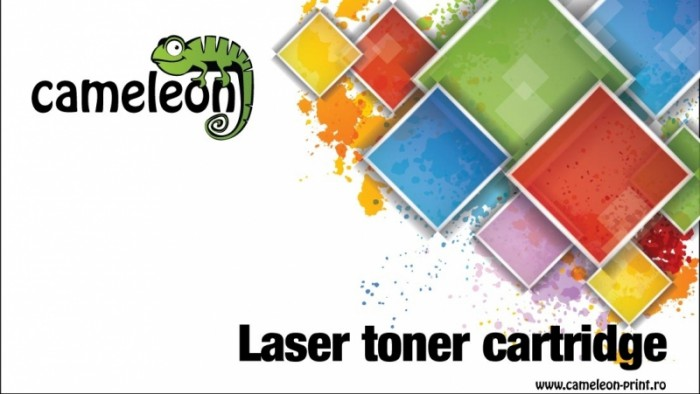 Toner Compatibil Cameleon CF283X Black, pentru HP M125/127,  0