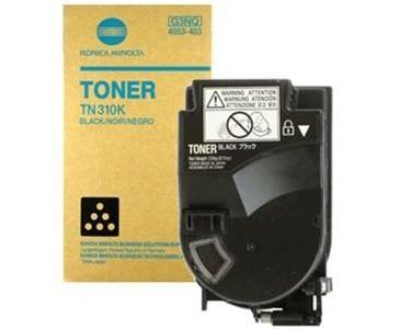 Toner Original pentru Konica-Minolta Negru TN-310K, compatibil BizHub C350/351/450, 11500pag  0