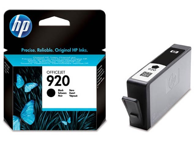 Cartus cerneala Original HP Black 920, compatibil OfficeJet 6000/6500/7000/7500, 420pag  0