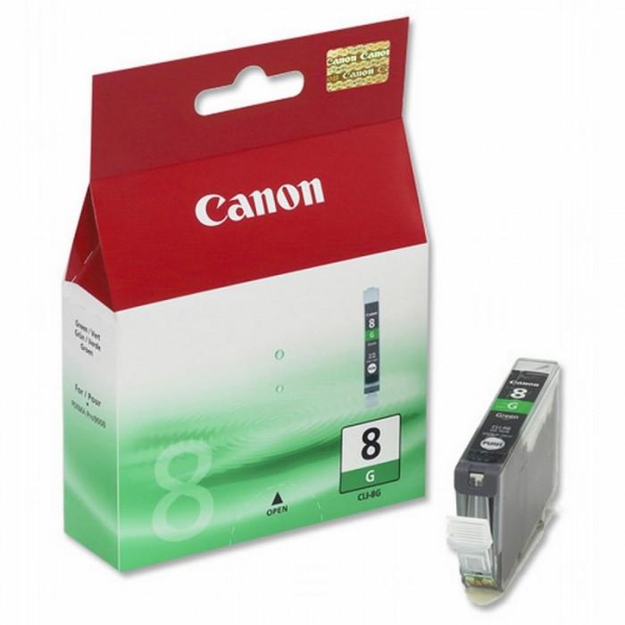 Cartus cerneala Original Canon CLI-8G Green, compatibil Pro 9000  0