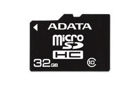 Secure Digital Card micro SDHC 32GB class10 ADATA  0