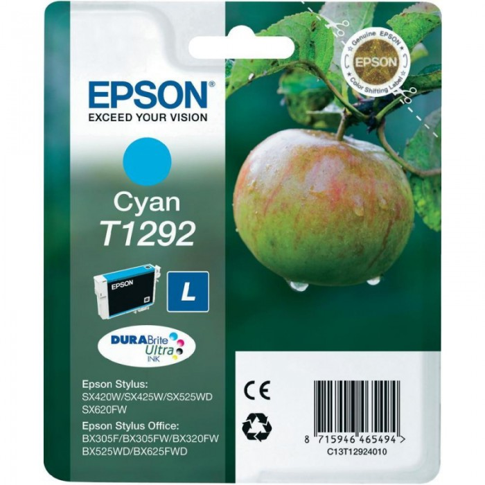 Cartus cerneala  Original Epson Cyan T12924010  compatibil  SX425W   [0]