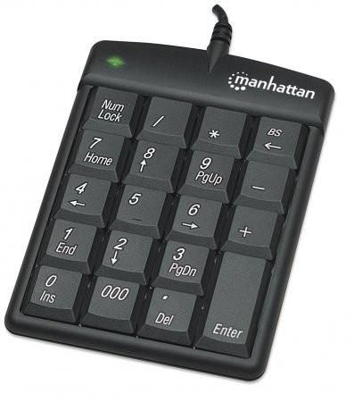 Tastatura numerica, USB, Black, Blister  0