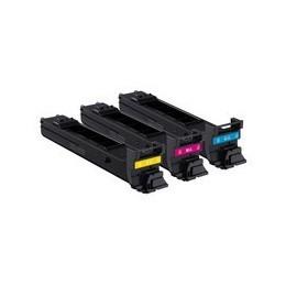 Toner Original pentru Konica-Minolta Kit CMY, compatibil MC 4650/4690MF, 3x4000pag  0