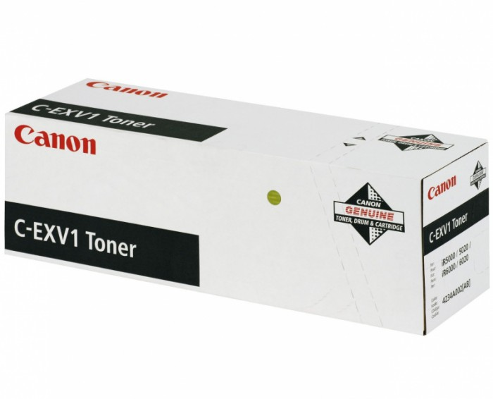 Toner Original pentru Canon Negru C-EXV1, compatibil IR5000/6000, 33000pag  0