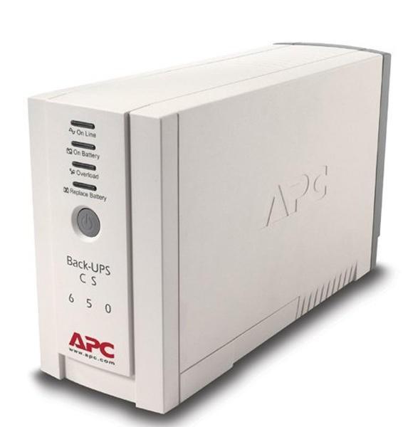 UPS  APC Back-UPS CS 650VA   0
