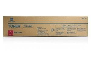 Toner Original pentru Konica-Minolta Magenta TN-214M, compatibil BizHub C200, 18500pag  0