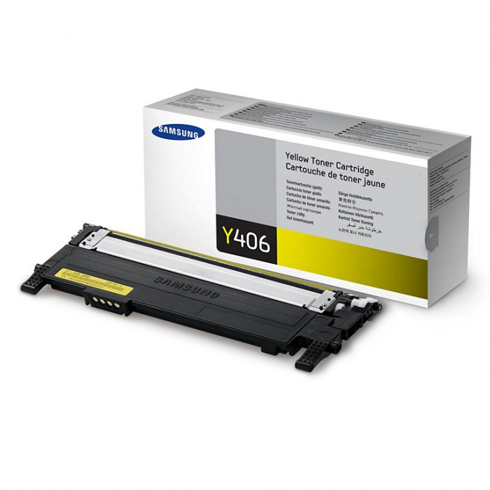 Toner Original pentru Samsung Yellow, compatibil CLP-360/365/CLX-3300/3305, 1000pag  [0]