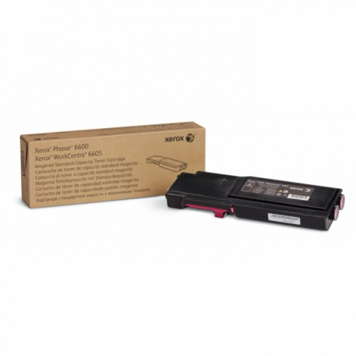 Toner Original pentru Xerox Magenta, compatibil Phaser 6600/WC6605, 2000pag  [0]