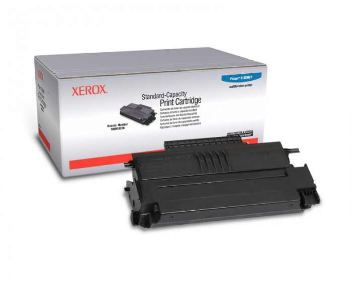Toner Original pentru Xerox Negru, compatibil Phaser 3100MFP, 2200pag  0