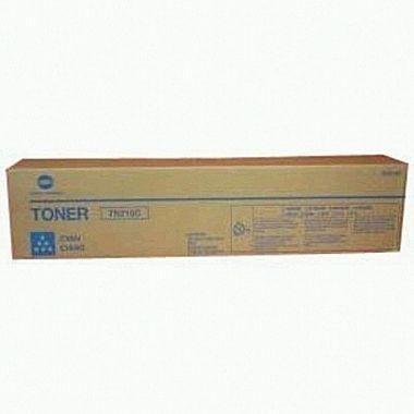 Toner Original pentru Konica-Minolta Cyan TN-210C, compatibil BizHub 250/252, 12000pag  0