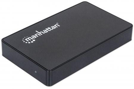 """RACK EXTERN  2.5"""" SATA HDD, Black Aluminum, 1x SuperSpeed USB 3.0 Port, Retail Box  [0]"""